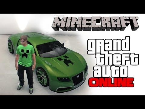 Gta 5 Online Crew Cars Gta 5 Online Minecraft Car