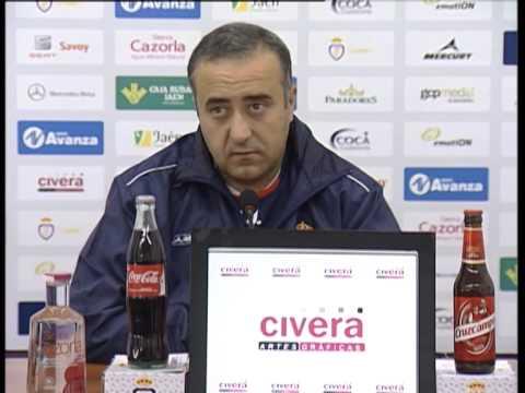 Aybar en previa Balona-Jaén (05-12-14)