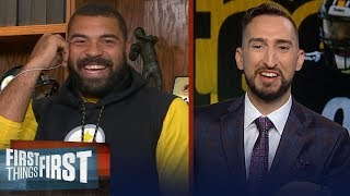 Cam Heyward talks season without Big Ben, addition of Minkah Fitzpatrick | NFL | FIRST THINGS FIRST
