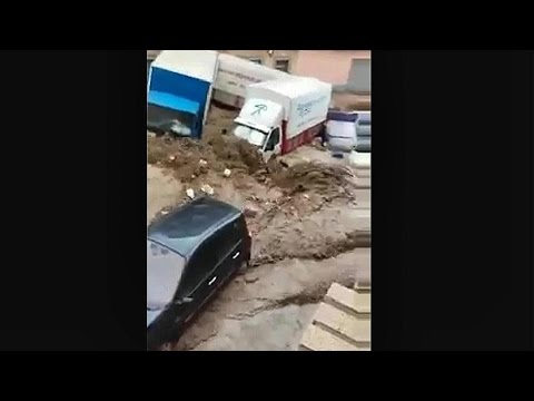 !! INUNDACION REPENTINA !! ADRA SPAIN FLASH FLOOD DISASTER 7th SEPTEMBER