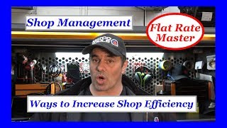 Shop Management Ways to Increase Shop Efficiency