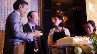 コトバエンドロール | tsutomu   ai wedding cinema movie same day edit | 結婚式 撮って出し