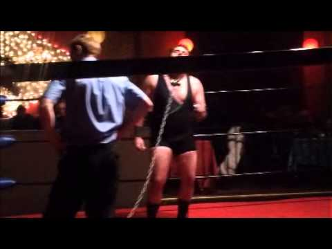 A fucking dog collar match! Buddy Boone vs Buck Gunderson (Handheld Copy)