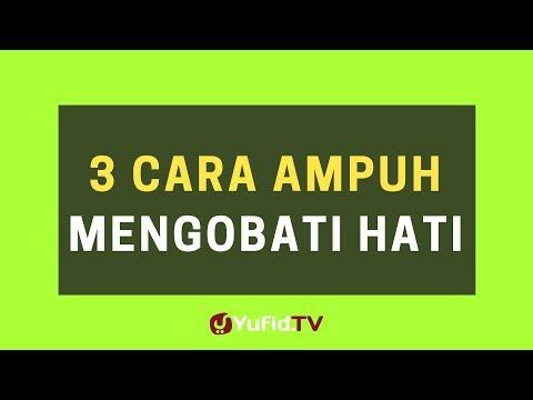 3 Cara Ampuh Mengobati Hati (Wasiat Ibnu Qayyim) – Poster Dakwah Yufid TV