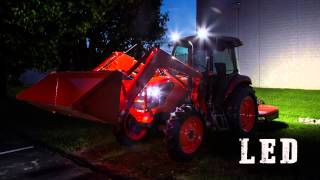 Kubota Tractor changing to LED lighting