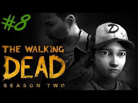 THE WALKING DEAD (SEASON 2) : Night Let's Play #8 [FACECAM] - DIE FLUCHT BEGINNT !!