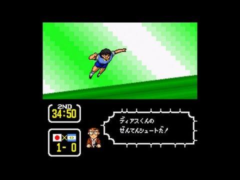 Captain Tsubasa 3 (Super Famicom) - Match 18: Japan Vs. Argentina