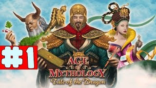 Age of Mythology EX: Tale of the Dragon - Walkthrough - Part 1 - Rising Waters (PC HD) [1080p60FPS]