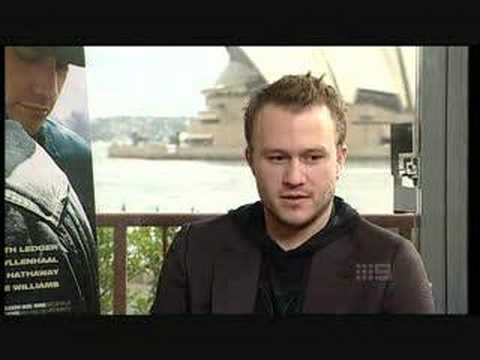Heath Ledger - 23rd January 2008 - ACA Sydney Australia Pt.3