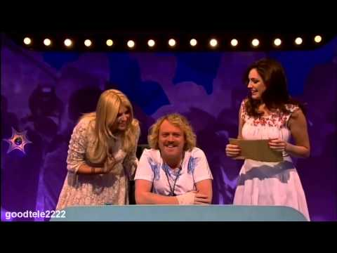 Holly Willoughby & Kelly Brook - Celebrity Juice Best bits