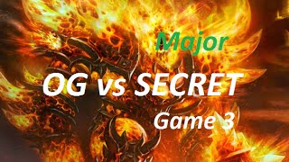 OG vs SECRET Game 3 - The Frankfurt Major 2015 Grand Final Dota 2