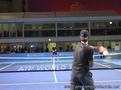 Nadal High Intensity Training @ Masters Finals 2011