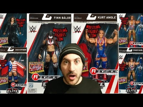 NEW WWE MATTEL ELITE 59 FIGURE SERIES ANNOUNCED!!!