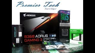 B360M GAMING 3 # INTEL CORE i5 8400 8TH GEN # SSD WD 120GB # GAMING PC  Review in Bangla # PREMIER T