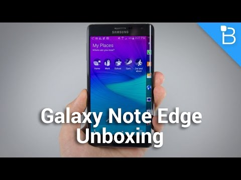 Samsung Galaxy Note Edge Unboxing!