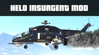 HELO INSURGENT MOD (Helicopter Attack Mini-Game) | GTA 5 PC Mods