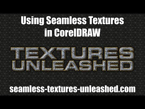 Using Seamless Textures in CorelDRAW
