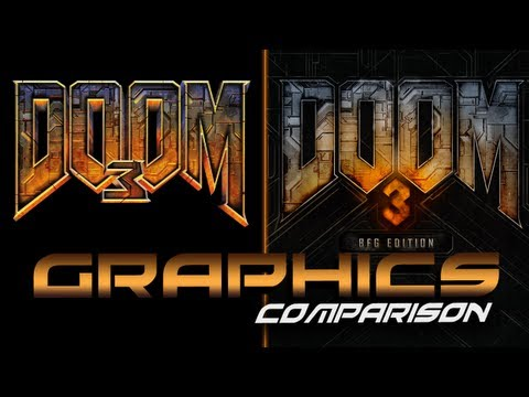 Doom 3 BFG Edition VS Doom 3 - Graphics Comparison PC (1080p)