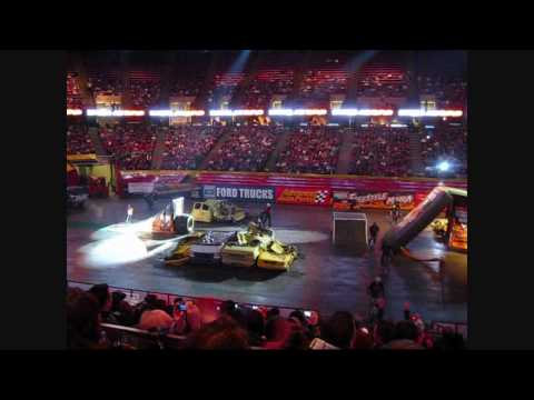 I took my son to Monster Jam at the Izod Center in East Rutherford, NJ.