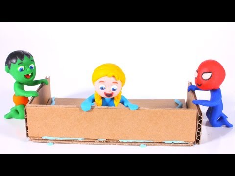 FUNNY KIDS MAKE A MUSIC BOX ❤ Play Doh Cartoons For Kids