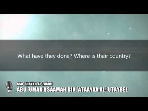 Truth behind American Military Bases in Saudi Arabia by Shaykh Abu-Umar al-Utaybee