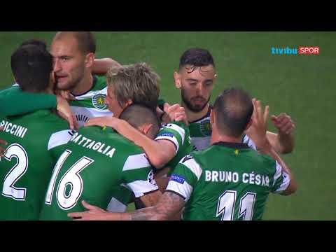Sporting 3–1 Olympiacos | UEFA Şampiyonlar Ligi Maç Özeti