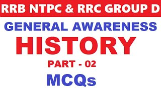 General awareness for ntpc, rrb je, level 01 | Medival History | History
