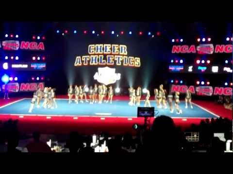 Cheer athletics panthers nca 2012
