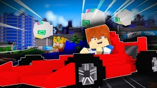 Minecraft Daycare - KIDS DRIVE RACE CARS !? (Minecraft Roleplay)