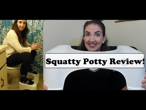 The Squatty Potty - Does it help with IBS? My First Impression Review!