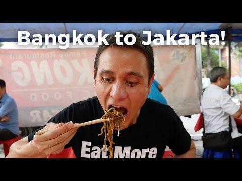 Bangkok to Jakarta, Indonesia!