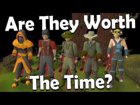 Which Skilling Outfits Should You Obtain [Old School Runescape Comparison]