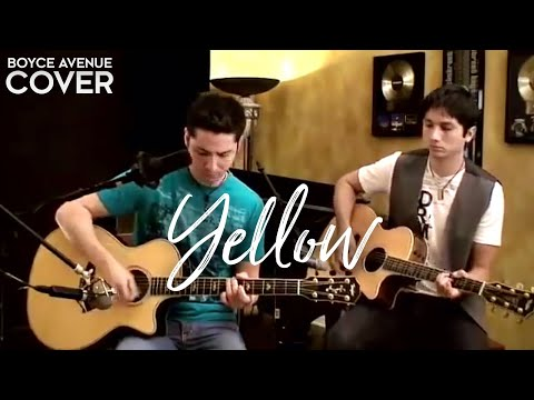 Coldplay - Yellow (Boyce Avenue acoustic cover) on iTunes� & Spotify