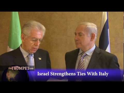 Israel, Italy Strengthen Ties