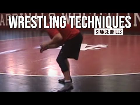 Wrestling Stance Drills - Instructional Video Image 1