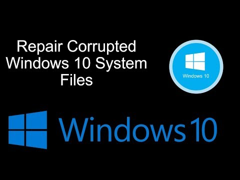 How Repair Corrupted Windows 10 System Files thumbnail