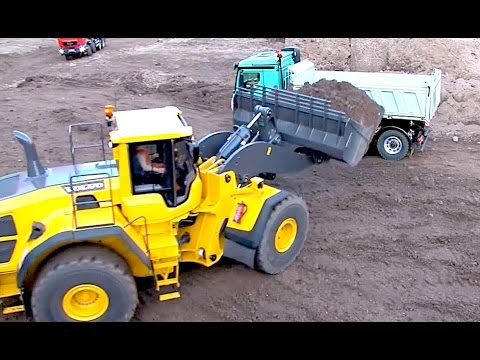 BEST OF RC Loader VOLVO L 250 G - At Work