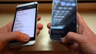 Samsung Galaxy S4 versus HTC One