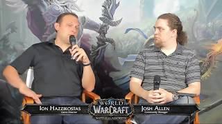 WoW Live Developer Q&A w/ Ion Hazzikostas-7/19/2018
