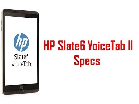 HP Slate6 VoiceTab II Specs & Features