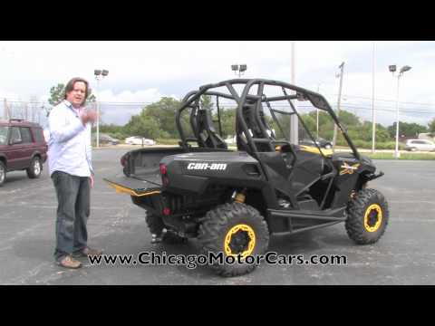 BRP Can-Am Commander 1000 X Review with Chris Moran from Chicago Motor Cars