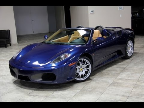 Ferrari F430 F1 Spider--Chicago Motor Cars Video Test Drive with Chris Moran