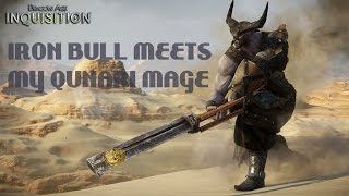 Dragon Age: Inquisition - My Qunari Mages Meets the Iron Bull
