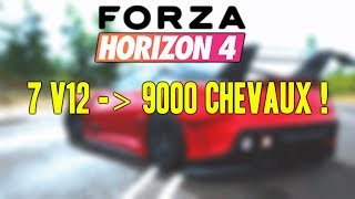 Forza Horizon 4 : 9000 CV ! 599XXevo vs MC12 CORSA vs MC12 FE