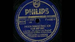 Diesen Tango Tanz' Ich Nur Mit Dir Theo Lingen