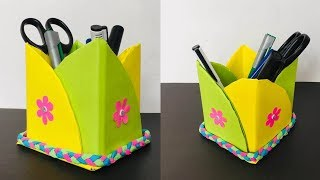 Pencil Box With Paper   Pencil Holder Ideas With Paper   Paper Craft Ideas