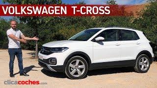 Volkswagen T-CROSS | Prueba a fondo | Review en español - Clicacoches.com