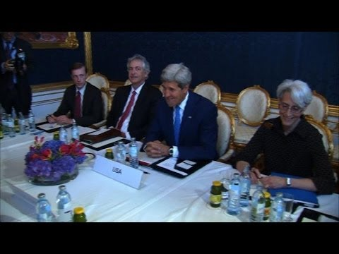 Kerry hunkers down for 'lengthy' Iran nuclear talks