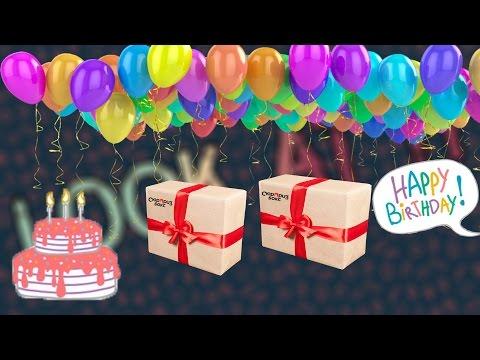 Подарки на день рождения сюрприз бокс 80