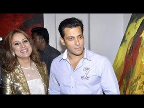 Salman Khan At Painting Exhibition